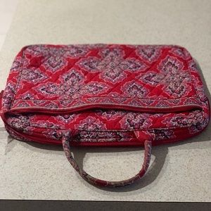 Vera Bradley Laptop Case (Reddish Pink Color)